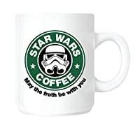 Star Wars, Starbucks Coffee parody MUG. Ceramic / Dishwasher proof