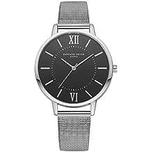 Casual Negocio Reloj Pulsera Analógico Correa Malla De Cuarzo Reloj Mujer Watch