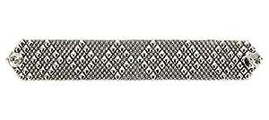 Argento antico braccialetto b9-as SG Liquid metallo da Sergio Gutierrez–3taglie–SG astuccio e panno di pulizia inclusi, argento-placcato-base, colore: Silver, cod. B9-AS
