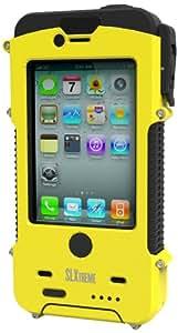 SLXTREME iPhone 4 / 4S Snow Lizard ruggedrised waterproof solar power case -Yellow
