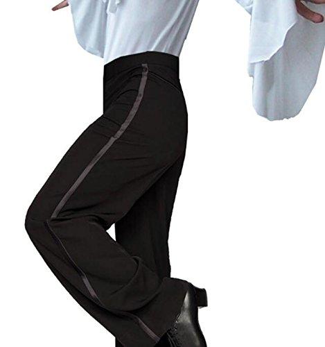 HAO YU Bambini e uomini di pantaloni di danza latino (XS)