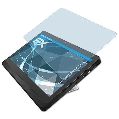 atFolix Schutzfolie kompatibel mit MSI AP16 Flex Folie, ultraklare FX Bildschirmschutzfolie (2X)