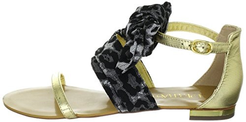 Supertrash Guilty, Sandali donna Oro Gold Black, Oro (Gold Black), 38