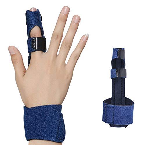 Libershine Fingerschiene Verlängerung für Trigger Finger,Mallet Finger, Fingerknöchel Immobilisierung, Finger Frakturen, Wunden, Post-Operative Pflege und Schmerzlinderung -