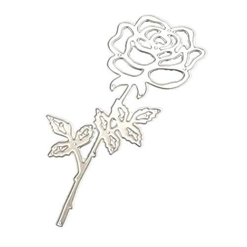Troqueles De Corte De Corte De Metal Die Stencil Rose