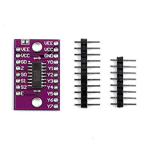 Cjmcu-4051 74Hc4051 8 Channel Analog Multiplexer Module - Electronic Low-voltage-single-pole