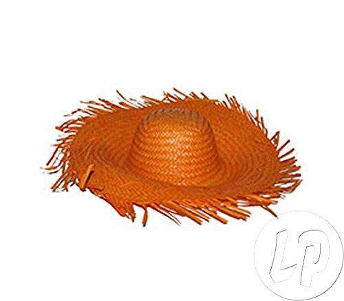 Lote-Conjunto-de-6-piezas-sombrero-anaranjado-Tahit-Hawaii