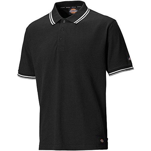 "Dickies Dickies SH2001 BK XXL Polo-Shirt""Riverton"" Größe 2XL in schwarz"