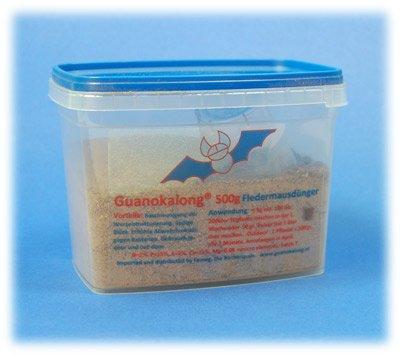 Guanokalong Pulver 0,5kg Dünger Guano Nahrung Dung Grow (Pulver Dünger)