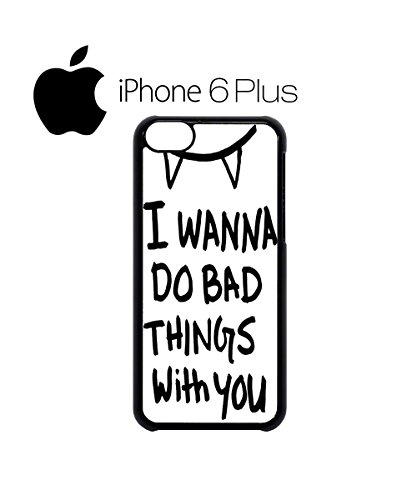 I Wanna Do Bad Things With You Vampire Mobile Cell Phone Case Cover iPhone 5c Black Schwarz