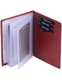 Porte-cartes LOUANA, cuir véritable, 12x9,1cm