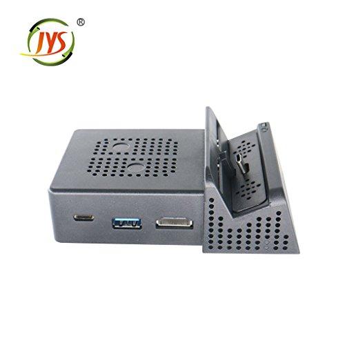Tragbare Dock für Nintendo Schalter Ersatz Dock Montage-Gehäuse mit elektronischen Chip USB HD-Port Regard