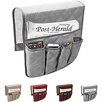 Bolsa multiusos con 6bolsillos para almacenamiento en el sofá, para guardar mando a distancia, soporte organizador e impermeable