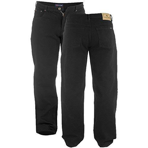 Schrittlänge Jeans (Herren Rockford Duke Schwarz 34