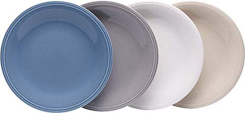 Vivo Villeroy & Boch Group 1952798660 Color Loop Frühstücksteller 21,5 cm Set4 (1 Set) Boch Loop