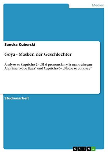 Goya - Masken der Geschlechter: Analyse zu Capricho 2 -