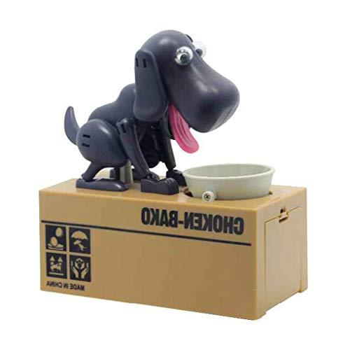 (Level Netter Welpen-Münze Bank Choken Robotic Dog Bank Doggy Münze Bank Canine Kunststoff Saving Money Box)