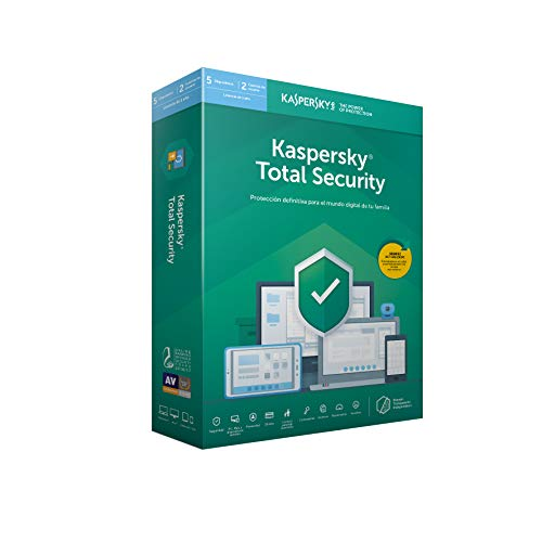 Price comparison product image ANTIVIRUS KASPERSKY KASPERSKY TOTAL SECURITY MULTIDEVICE 2019 - 5 LICENCIAS / 1 AÃ'O