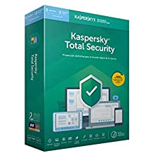 Kaspersky Lab Total Security 2019 Base license 5 licencia(s) 1 año(s) Español - Seguridad y antivirus (5 licencia(s), 1 año(s), Base license, Soporte físico)
