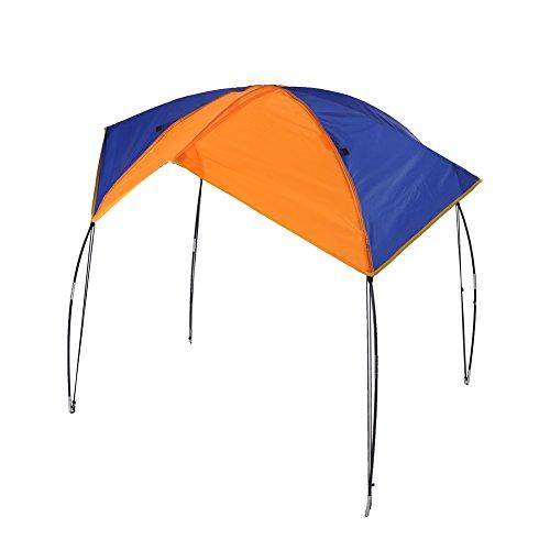 Zelt Faltbare Baldachin für Schlauchboot und Camping 2-4 Personen Tragbares Boot Zelt Sonnenschutz Canopy Markise (2 persons)