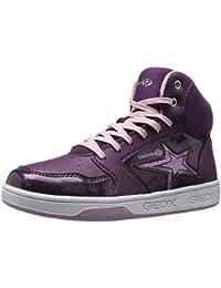 fe5e3c2aa02 Geox Kids' Maltin Girl 13 High Top Sneaker