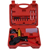 Universal Hand Held Vacuum Tester Brake Bleeder Set And Brake Bleeder Bleeding Tool Kit For Car Motorbike Moped Motor Bike