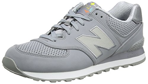New Balance 574, Baskets Homme Gris (Grey)