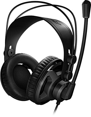 Roccat Renga Boost Studio Grade Over-Ear Stereo Gaming Headset (Multi-Plattform-Unterstützung für PC/PS4/Mobile/Tablet) schwarz (Generalüberholt)