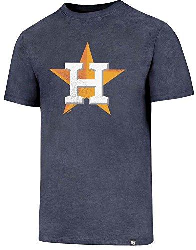 47 Brand Houston Astros MLB Knockaround Club Tee Navy T-Shirt Mens Forty Seven -
