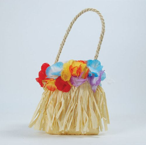 Handtasche mit Blumen Hawaii Hula-Tropical Beach Party (Party Ideen Sport Kostüm)