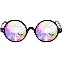 Btruely Herren Kaleidoscope Gafas de Sol Mujeres Hombres Gafas de caleidoscopio Rave Festival Party