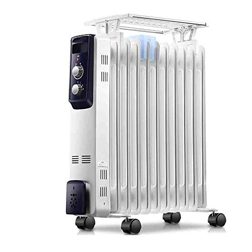 41dX8aP4i0L. SS500  - AJS White Convection Heater Automatically Oscillates And 3 Heating Settings 2000W Easy To Carry A+