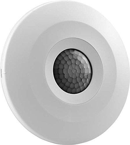 Grothe 94504 Aufputz, Decke PIR-Bewegungsmelder 360° Relais Weiß IP20