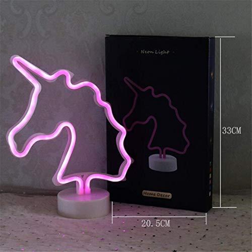 Ceiling Light-A Nachtlicht Korea ins Weiche Schwester Mädchen Herz Neon Liebe Einhorn Herzförmige Dekorative Lichter Kaktus Lichter Foto Requisiten