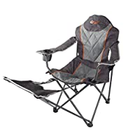 Portal Outdoor Folding Portable Camping Armchair - Strong, Comfortable and include Free Carry Bag - Supports up to 120kg 2