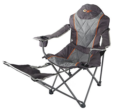 Portal Outdoor Folding Portable Camping Armchair - Strong, Comfortable and include Free Carry Bag - Supports up to 120kg 1