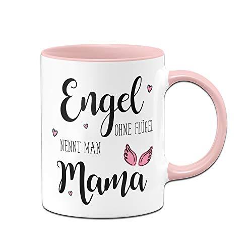 e Engel ohne Flügel nennt Man Mama, Geschenk zum Muttertag oder Geburtstag (Rosa) ()