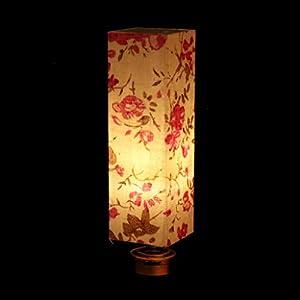 Puppenstube Miniatur LED Stehlampe Nachtlicht Beleuchtung Modell für Puppenhaus Wohnzimmer Schlafzimmer Deko - Nachttischlampe