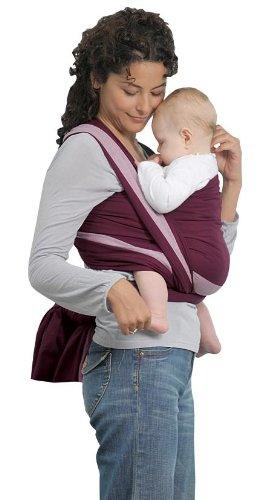 AMAZONAS Babytragetuch Carry Sling Berry 450 cm 0-3 Jahre bis 15 kg