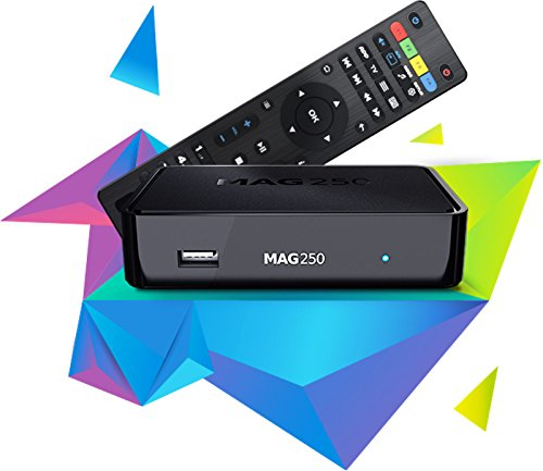 41dXAn 0pkL - BEST BUY #1 MAG 250 Micro HD IPTV Set Top Box - Internet Protocol TV Receiver , Genuine Original Box From Infomir Reviews and price compare uk