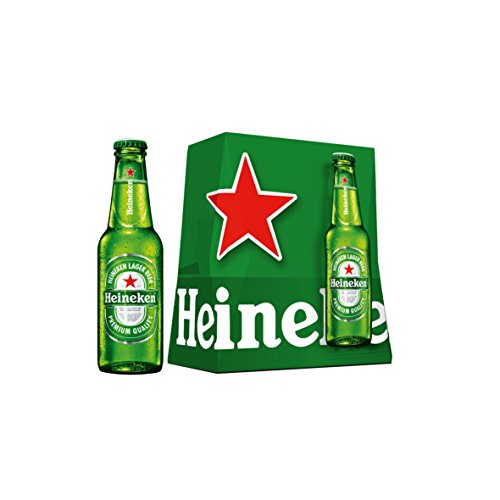 Heineken Beer - Pack of 6 Bottles x 250 ml - Total: 1.50 L