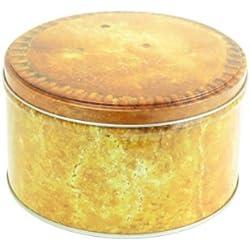 Pork Pie Small Storage Tin - Metal Tin