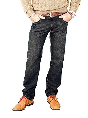 Walbusch Herren Jeans-Jeans einfarbig Comfort Fit in den Farben Blau, Hellblau, Blue Stone, Light Blue, Blue Brown Blue Brown