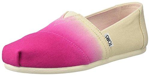 TOMS Womens Classics Fuchsia Dip Dye 37 (Dip Dye Schuhe)