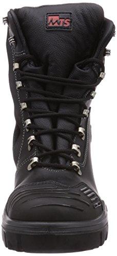 MTS Sicherheitsschuhe M-Gecko Kinley S3 Flex ÜK Hi/Ci 16104, Bottines de Sécurité Mixte Adulte Noir - Noir