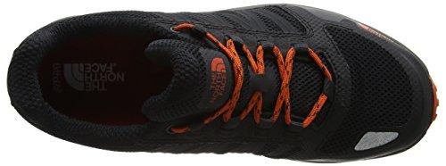 The North Face Litewave Fastpack, Chaussures de Randonnée Basses Homme Gris (Phantom Grey/tibetan Orange)