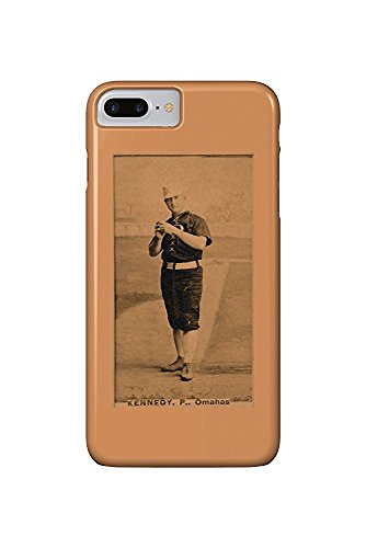 Omaha Minor League - Ted Kennedy - Baseball Card (iPhone 7 Plus Cell Phone Case, Slim Barely There) -