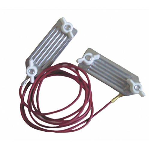 Göbel Weidezaun Elektrozaun Zubehör Anschlusskabel Edelstahl Stromverbinder für Breitband Bänder bis 40mm