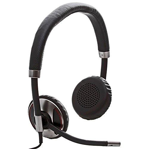 Plantronics Blackwire C720 M, 87506-11 professionelles binaurales US-HS mit Smart Sensor Technologie: USB an PC/Bluetooth an Mobile, Inline Lautstärkeregelung, Gesprächsannahme, Beendiggung Plantronics Mobile