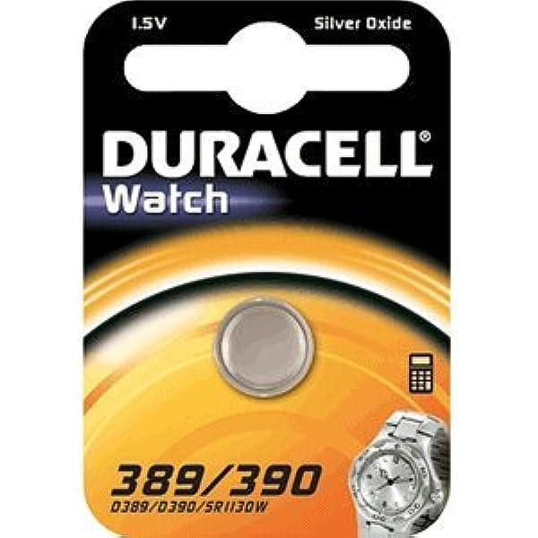 Duracell Knopfzelle Watch 389 390 Sr1130w 1 5v Elektronik